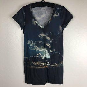 DKNY Cloud Long T Shirt
